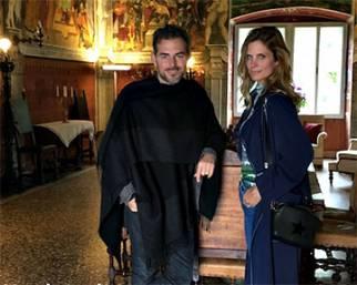Daniele Bossari e Filippa Lagerback scelgono il vino per le nozze