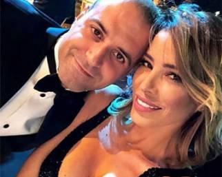 Aida Yespica, primo evento mondano con Matteo Cavalli
