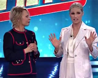 Maria De Filippi show dalla Hunziker