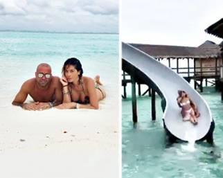 Aida Yespica, vacanza d'amore alle Maldive con Matteo
