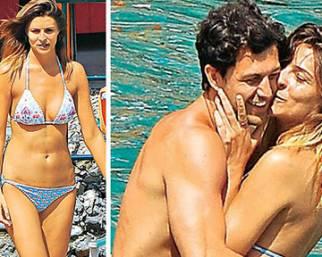 Cristina Chiabotto e il nuovo fidanzato al mare