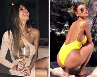 Cristina Buccino, un caldo compleanno a Ibiza