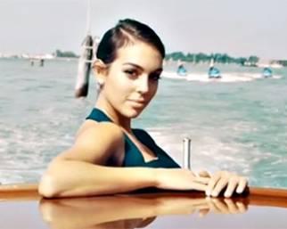 Georgina Rodriguez, Lady Ronaldo star a Venezia 75