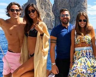 Federica Nargi e Alessandro Matri, settembre a Capri con gli amici