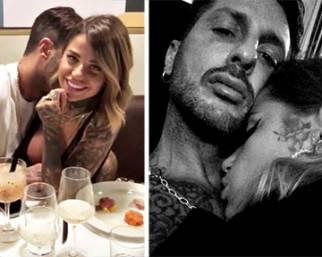 Fabrizio Corona e Zoe Cristofoli, appassionati al compleanno di lei