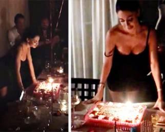 Belen Rodriguez, festa di compleanno senza Andrea Iannone