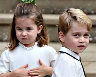 George e Charlotte d'Inghilterra superstar alle nozze