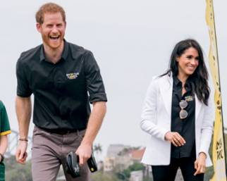 Meghan e Harry, in Australia accolti da star