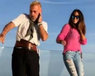 Gianluca Vacchi, balletto d'amore con Sharon
