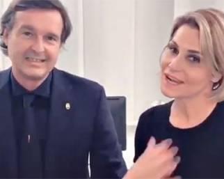 Simona Ventura e Gerò Carraro, l'addio è social