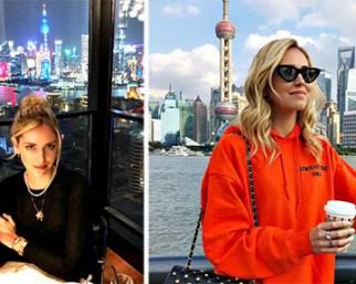 Ferragni a Shanghai senza Leone, le critiche
