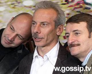 Aldo Giovanni e Giacomo sul comò