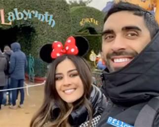 Giorgia Palmas e Magnini e Disneyland
