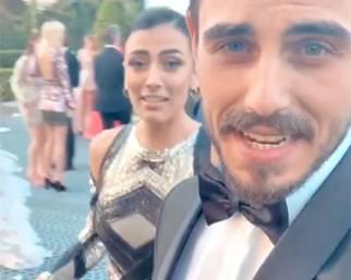 Francesco Monte e Giulia Salemi a Cannes