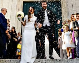 Lorella Boccia e Niccolò Presta, nozze da favola