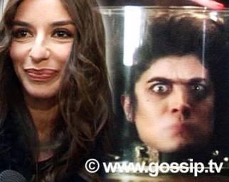 Sabrina e lo Scamarcio sotto vetro