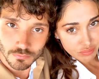 Belen e Stefano De Martino con Santi a Ibiza super innamorati