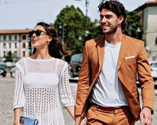 Cecilia e Ignazio al Pitti Firenze