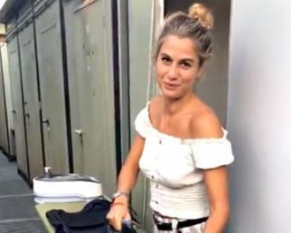 Cristina Marino assistente personale di Luca Argentero