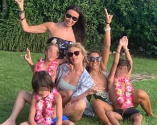 Alessia Marcuzzi festeggia la sua Mia