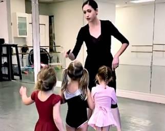 Canalis e Balti, le figlie fanno danza