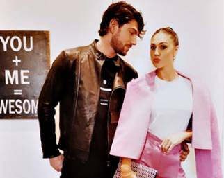 Ceci e Ignazio alla Fashion Week