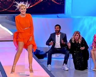 Gemma Galgami come Marilyn a U&D
