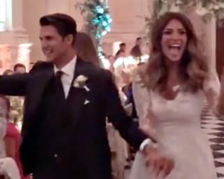 Christina Chiabotto e Marco Roscio, nozze da favola