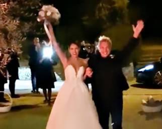 Andrea Mainardi e Anna Tripoli, nozze in Toscana