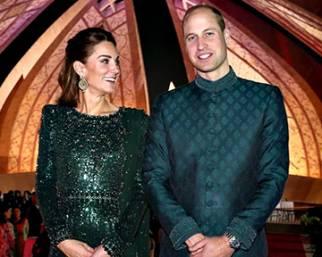 Kate e William in Pakistan