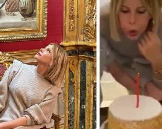 Alessia Marcuzzi, nuovo look per i 47 anni