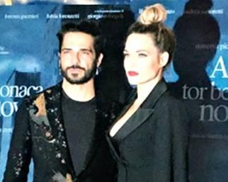 Laura Chiatti e Marco Bocci sul red carpet insieme a Roma