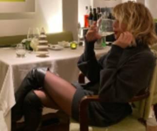 Alessia Marcuzzi, cena per il quinto anniversario di nozze