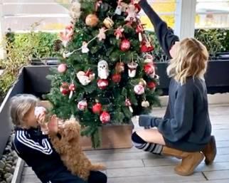 Alessia Marcuzzi anticipa il Natale