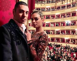 Elodie e Marracash alla Scala