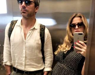 Marino e Argentero a Miami in dolce attesa