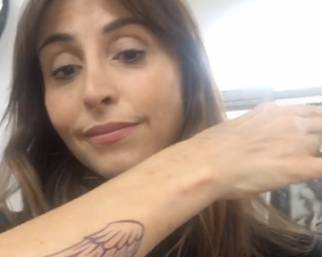 Benedetta Parodi, 4 tatuaggi in un giorno