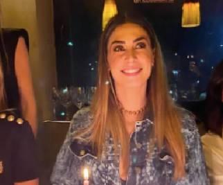 Melissa Satta, cena di compleanno con tutte donne