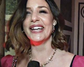 Alessia Fabiani: ''I miei figli iniziano a seguire le mie orme''</em>