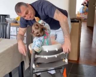 Vieri, la figlia di 1 anno lo chiama già Bobo: STORIES