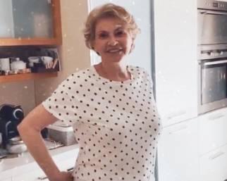 Michelle Hunziker rivede la mamma dopo tre mesi