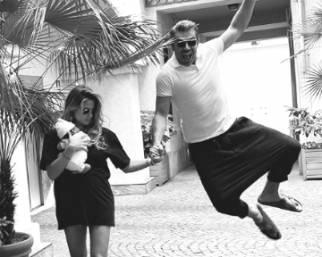 Luca Argentero e Cristina Marino: prime foto con la figlia