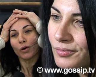 Un'ex-miss Italia senza trucco