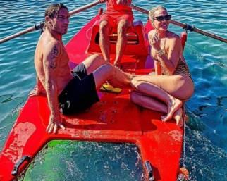 Ilary Blasi e Francesco Totti, fuga a Capri