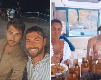 Cecilia Rodriguez e Ignazio Moser, vacanze in quattro