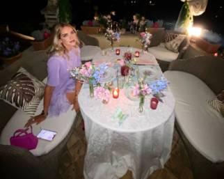 Ferragni e Fedez, cena romantica per l'anniversario di nozze