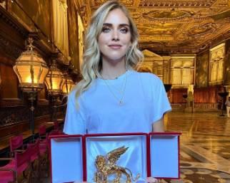 Leone d'Oro per Chiara Ferragni