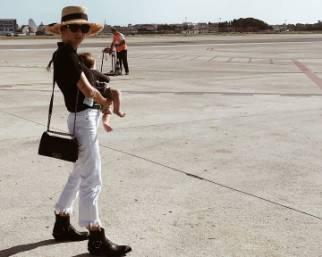 Cristina Marino, primo volo da mamma