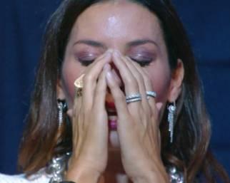 Elisabetta Gregoraci in lacrime al GF Vip