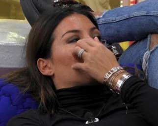 Elisabetta Gregoraci in lacrime da due giorni